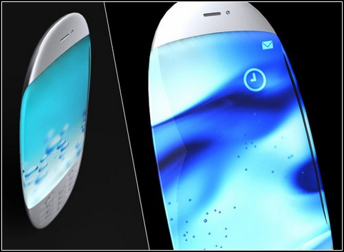 Nagisa Phone. Очень красивый концепт Мака Фунамицу (Mac Funamizu).