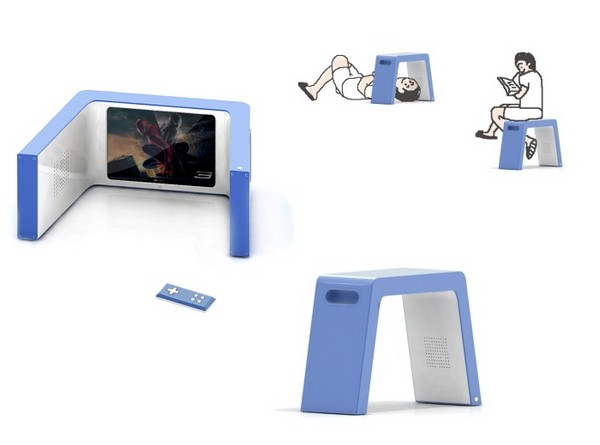 Телевизор для ленивых. Концепт NapTV от Sung-kyu Nam