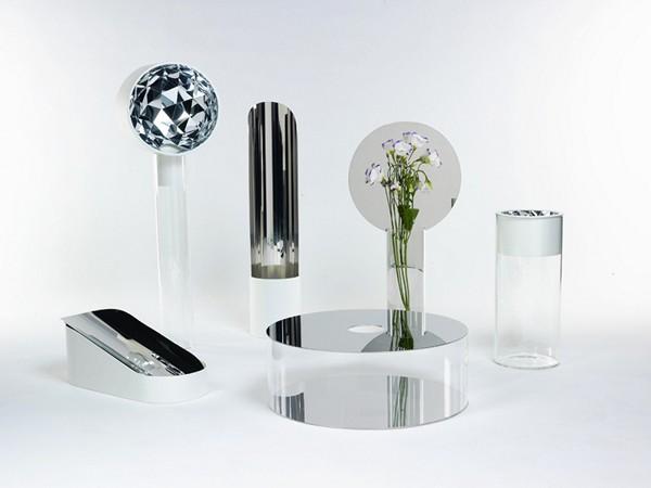 Вазы с зеркальной поверхностью от Джорджии Занеллато (Giorgia Zanellato)