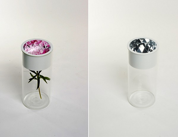 Narciso vase series, серия дизайнерских ваз с эффектом калейдоскопа