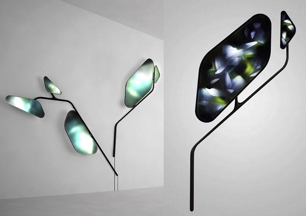 Серия необычных дизайнерских светильников Naturoscopie II