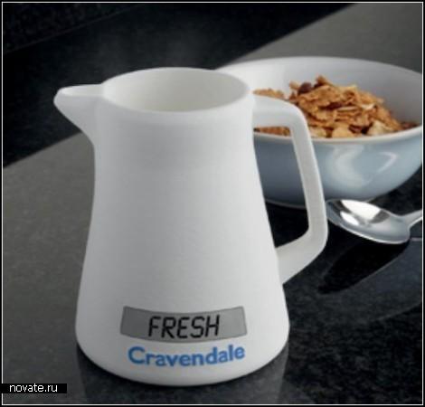 Электронный кувшин для молочной компании Cravendale