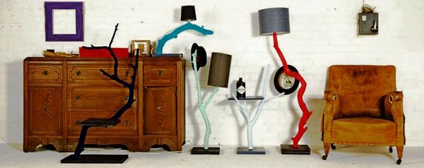 Коллекция деревянной мебели Outside in, переделанная из сухостоя дизайнером Nic Parnell