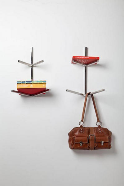 Металлическая полка-вешалка из Fractal collection