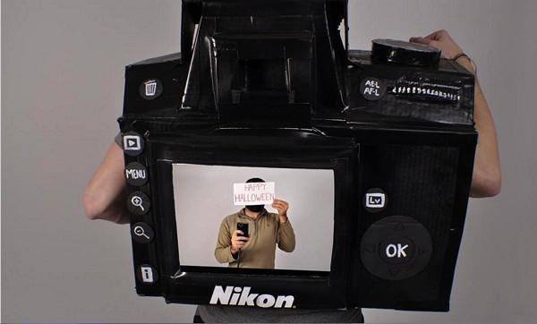 Проект полноценно работающего костюма Nikon D3 Camera Costume