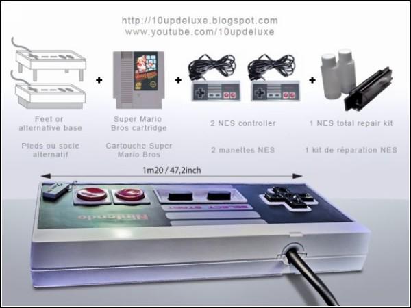 Гигантский джойстик от Nintendo, или оригинальный журнальный столик Controller Coffee Table