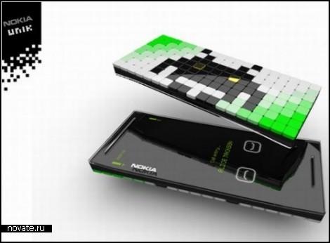 Концепт телефона Unik от Клемента Логеро (Clement Logereau)