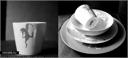 Фарфоровая посуда от Non Sans Raison