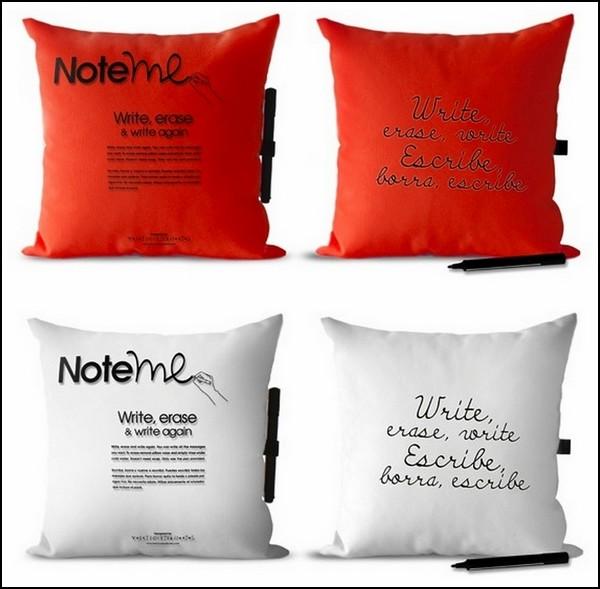 Note Me Pillows. Подушки для записок