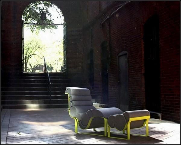 Проект Кейт МакКрири (Kate McCreary) - удобное кресло Nouveau Lounge