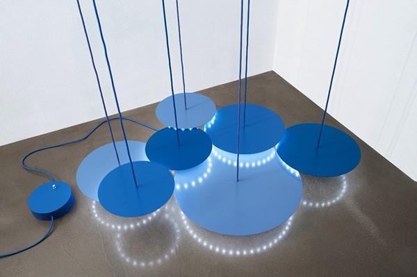 Дизайнерская люстра Nymphea pendant lamp, один из вариантов