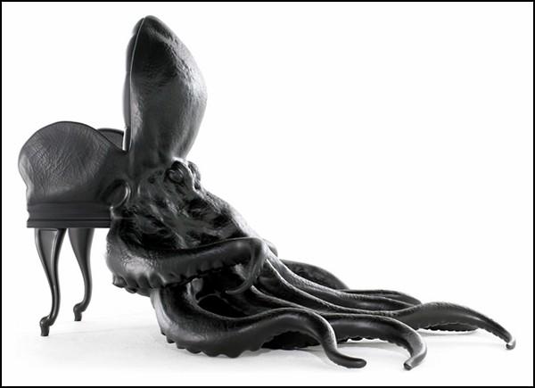 Кресло-осьминог Octopus Chair. Начало коллекции кресел Animal Chairs