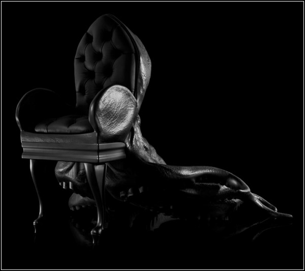 Первое кресло из коллекции кресел Animal Chairs