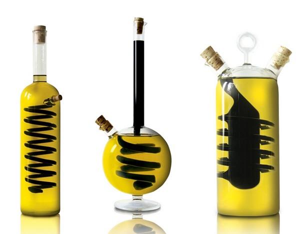 Емкости-колбы для масла и уксуса