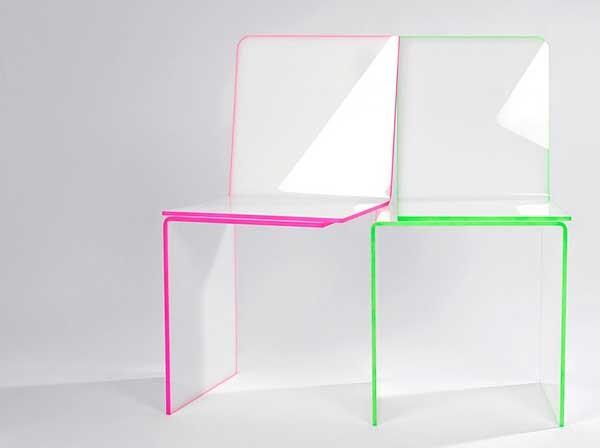 Необычные стулья One and One Chair, которым суждено быть вместе