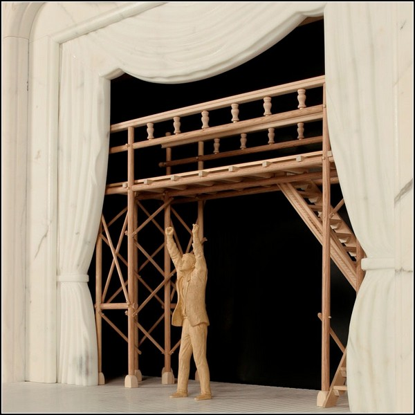 Opera Fireplace. Домашняя опера-камин от Себастьяна Эрразуриза (Sebastian Errazuriz)