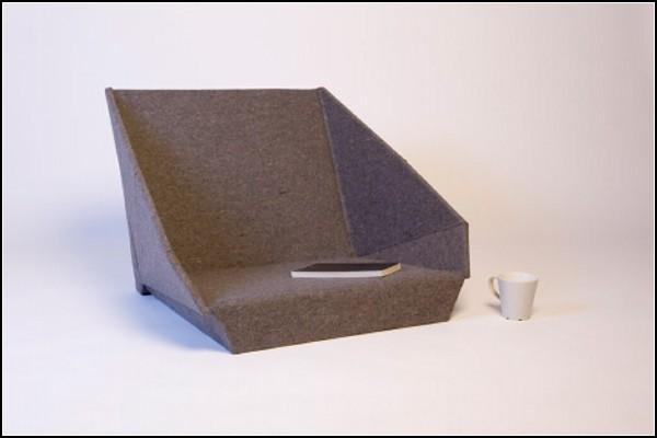 Стул-подушка Oyster chair от Kawamura Ganjavian