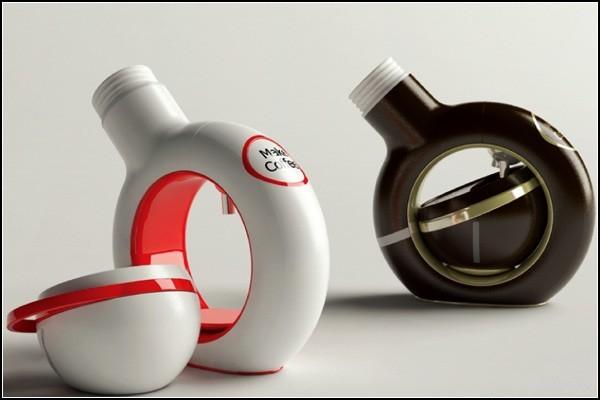 P-Cup, стильная концептуальная кофеварка для единоличника