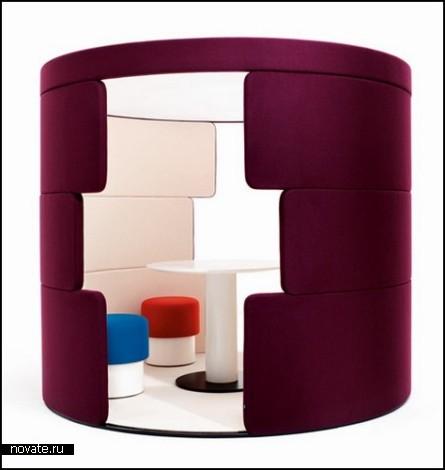 Коллекция модульной мебели PARCS от PearsonLloyd