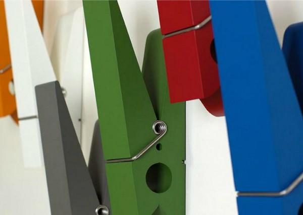 Необычные вешалки-прищепки PINCE Alors от студии Swab Design