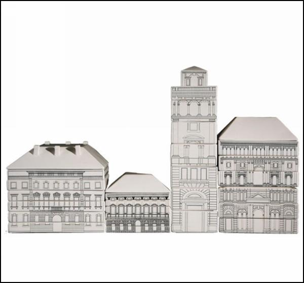Palace Porcelain. Фарфоровый замок из посуды