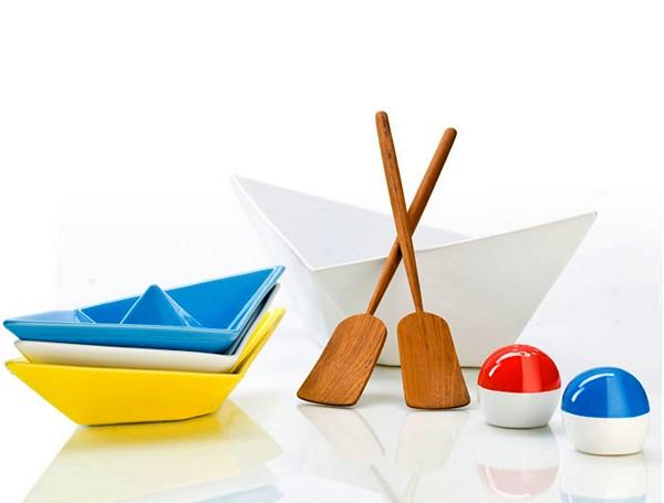 Набор креативной посуды из детства Paper Boat Tableware