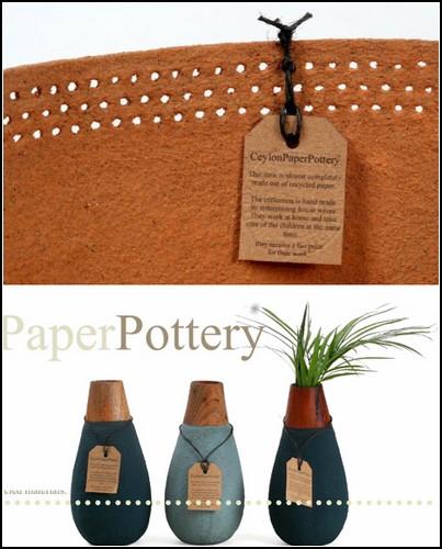 Водонепроницаемая бумага от Ceylon Paper Pottery