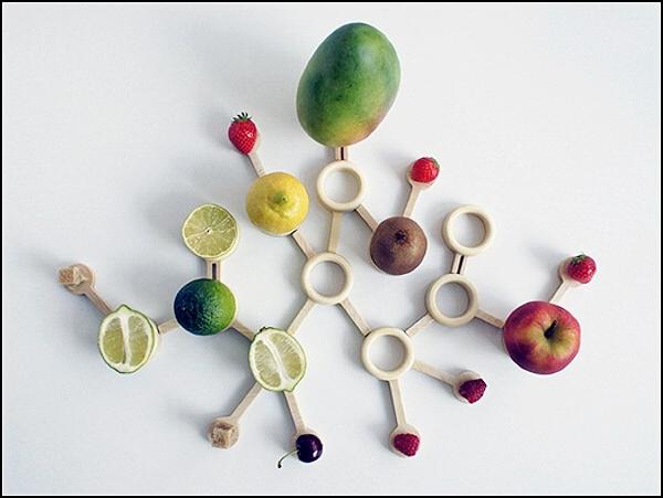 Дизайнерское блюдо Particle