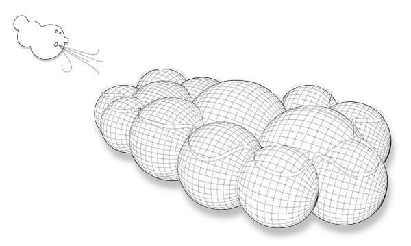 Passing Cloud, концептуальный транспорт будущего от Тьяго Барроса (Tiago Barros)