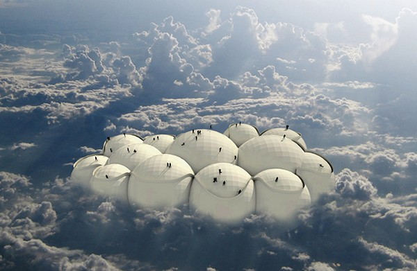 Passing Cloud, концептуальный транспорт будущего в виде облака