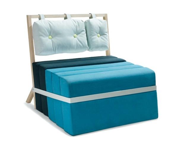 Современное кресло-кровать Pause от Майке Лангера (Meike Langer)