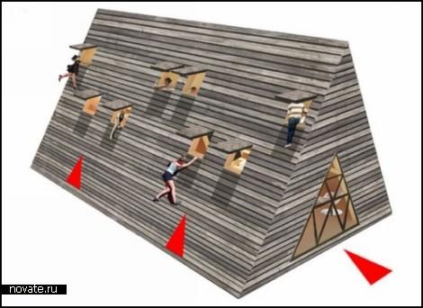Летний дом-пирамида Peak Series  от Vision Division