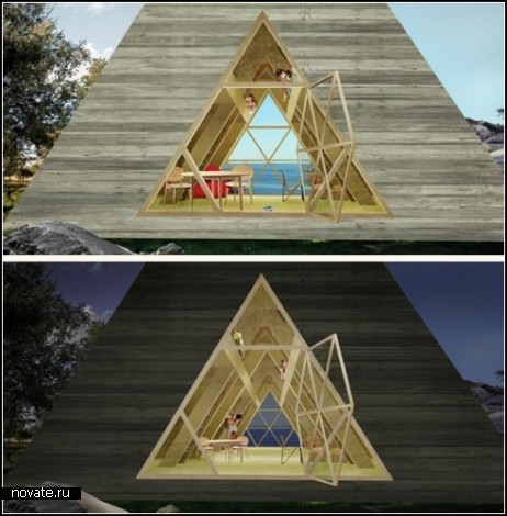 Пирамида своими руками дома