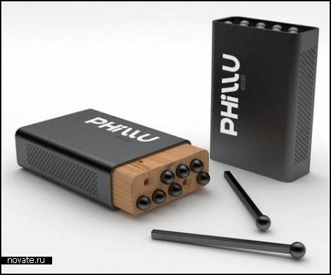 Концептуальная флешка Phillu - уникальная перспектива для хранения и передачи информации
