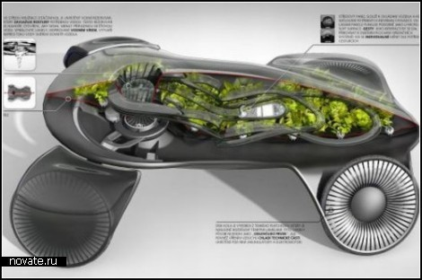 Photosynthesis Car. Авто, работающее на фотосинтезе