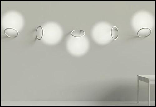 Светильники-пирсинг Wall Piercing Lights