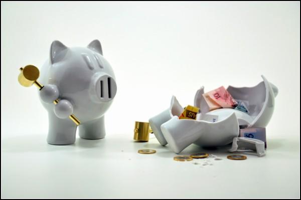 Piggy Bank revenge, или копилка-мститель