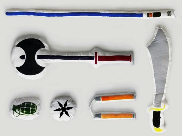 Оружие для войны подушками Pillow Fight