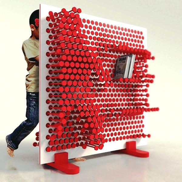 Необычный шкаф Pin Pres. Игровая мебель для детской комнаты