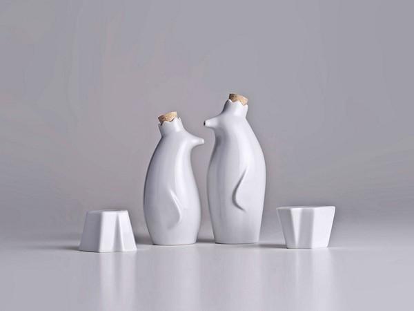 Айсберги для соли и перца, пингвины для масла и уксуса