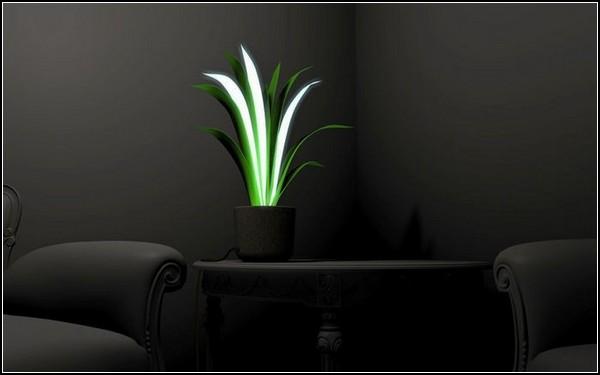 Plamp, лампа-светильник для подоконника или этажерки