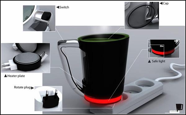 Концепт  Plug Cup от корейских дизайнеров