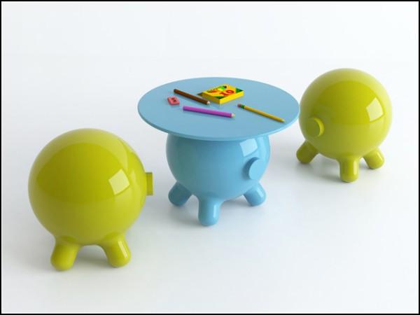 Столы-свинки от Джоэля Эскалоны (Joel Escalona)