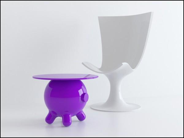 Столы а-ля свинья-копилка. Проект Pogo Table