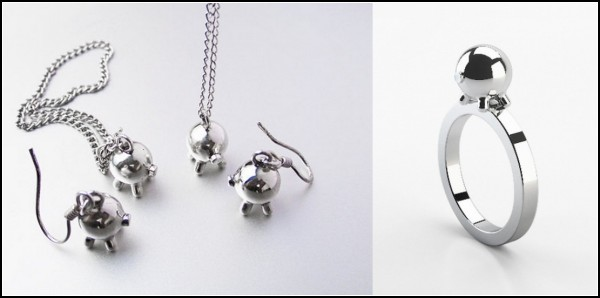Украшения-свинки Puercos Jewelry