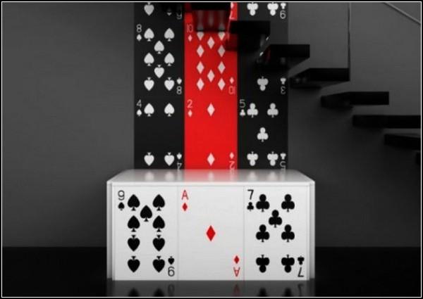 Poker Furniture, азартная мебель для игры в карты