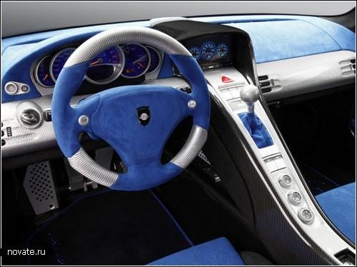 Супертюнинг Porsche Mirage GT Matt Edition от компании Gemballa