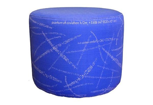 Шпаргалка с формулами как пуфик из серии Pouffles