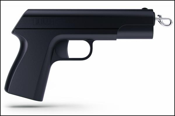 Поводокус (Povodokus). Поводок и пистолет
