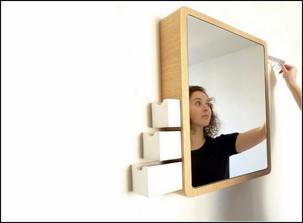 Стильное и функциональное: зеркало Precious с потайными отделениями